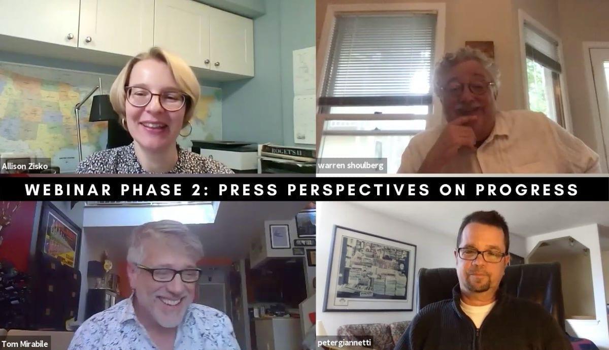 Press Perspectives on Progress – A Springboard Webinar Series Replay