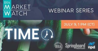 NPD, Springboard Futures, and the IHA Present The 2020 Market Watch Webinar Series