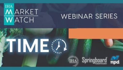 IHA Market Watch 2020 Webinar Series Session #1- TIME