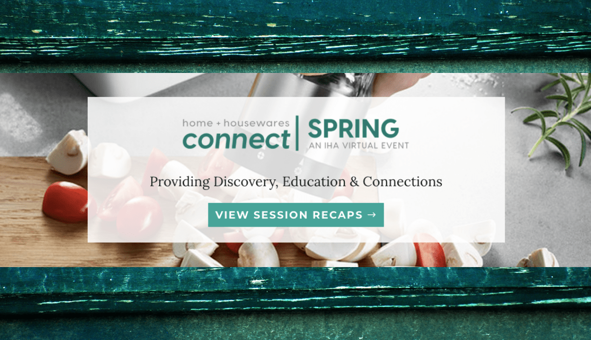 IHA's Connect Spring- A Virtual Collaboration with NPD Group & Springboard Futures